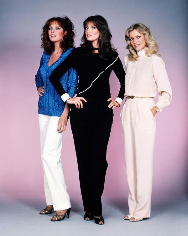 Tanya Roberts, Jaclyn Smith, Cheryl Ladd, serial Aniołki Charliego, 1980 rok