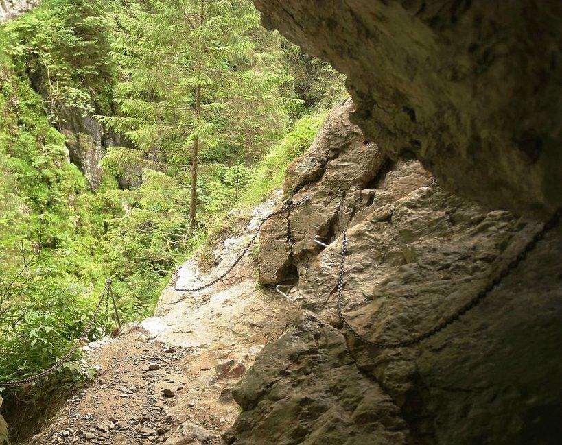 Tatry, jaskinia