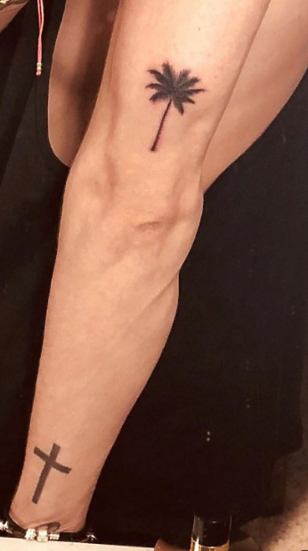 Tatuaż Michał Szpak
