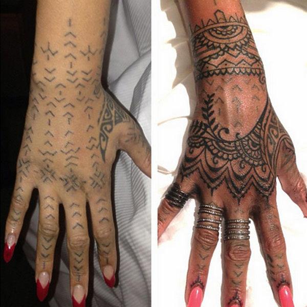 Tatuaż Rihanny