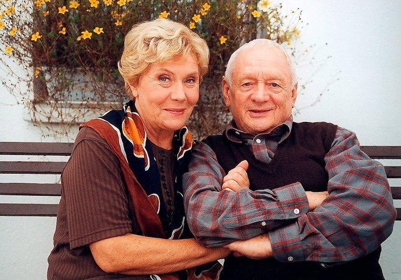 Teresa Lipowska i Witold Pyrkosz w pierwszych odcinkach serialu M jak Miłość