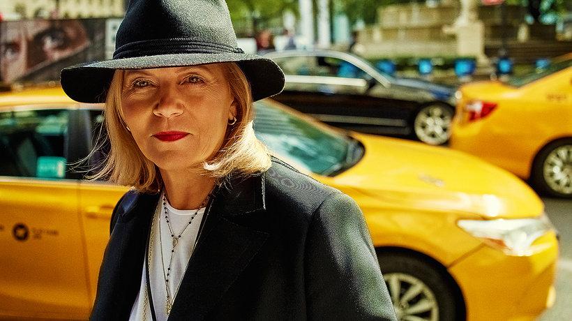 Teresa Rosati w Nowym Jorku