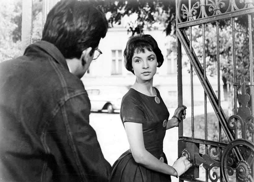 Teresa Tuszyńska, Kadr z filmu Do widzenia do jutra, 1960 rok