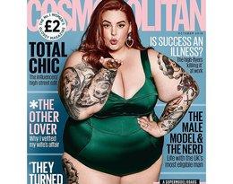 Tess Holliday, modelka XXL, modelka plus size w Cosmopolitan