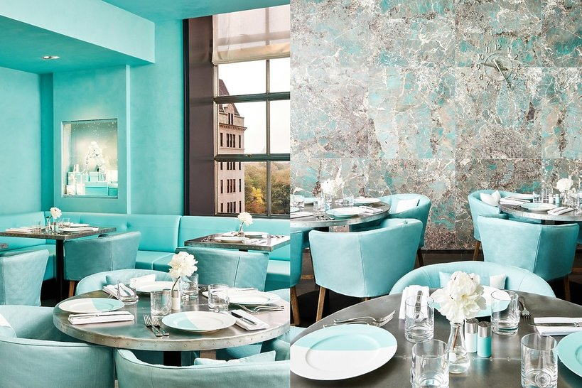 The Blue Box Cafe w Tiffany & Co.