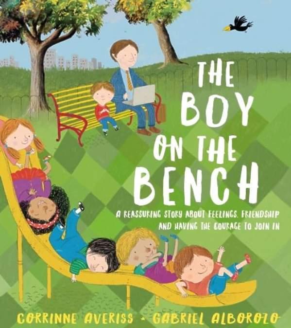 The Boy and The Bench okładka książki