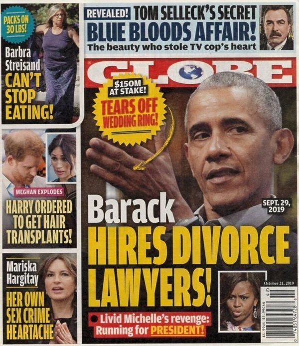 The Globe Barack Obama