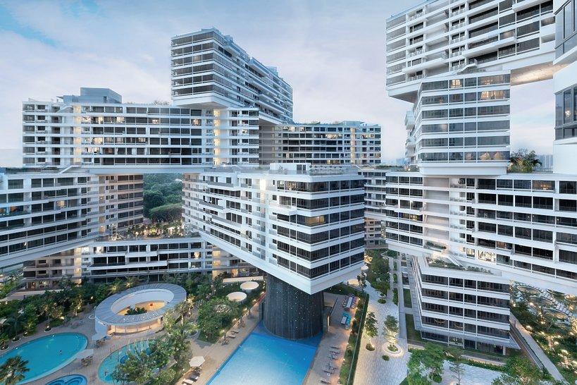 The Interlace w Singapurze
