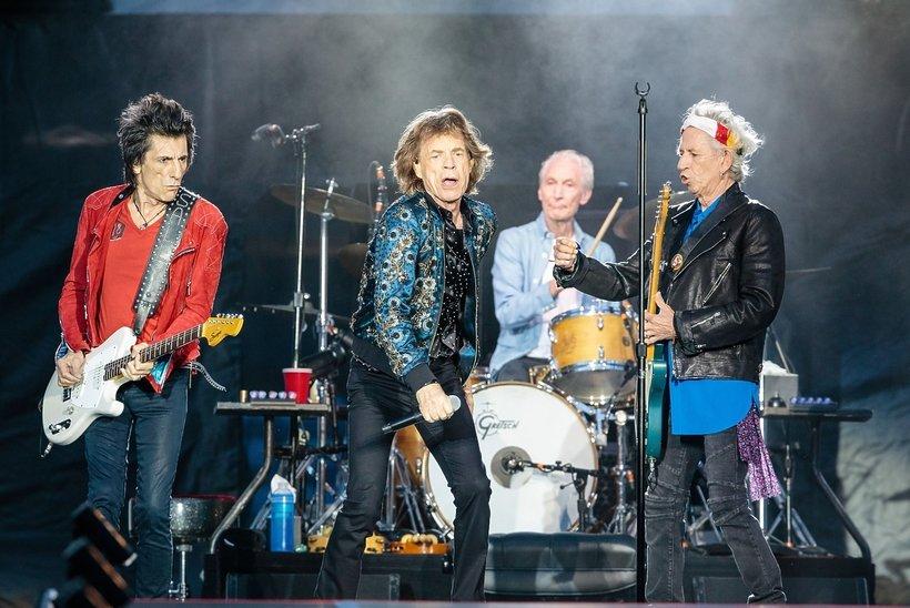 The Rolling Stones koncert