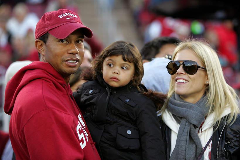 Tiger Woods rodzina