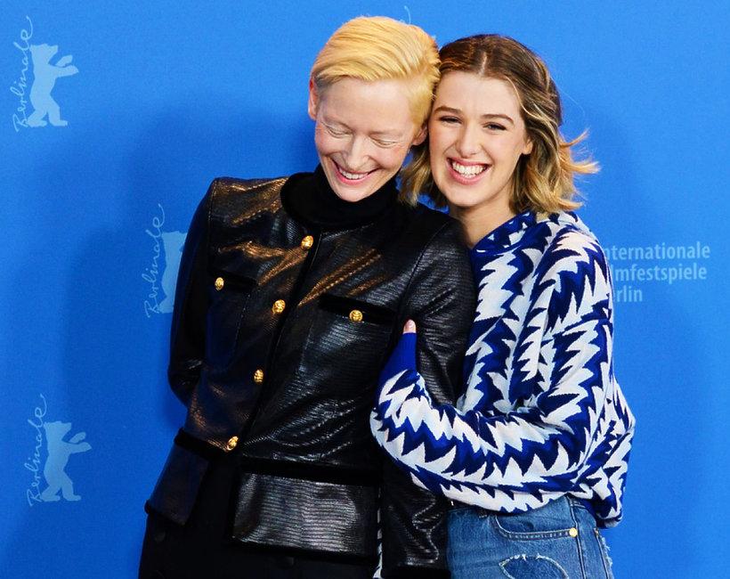 Tilda Swinton z córką, Berlinale 2019