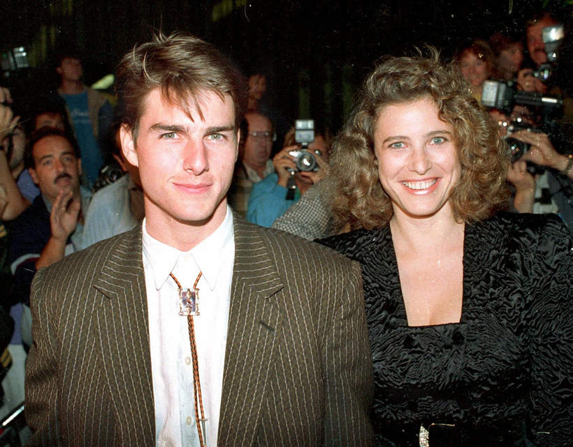 Tom Cruise i Mimi Rogers, 1986
