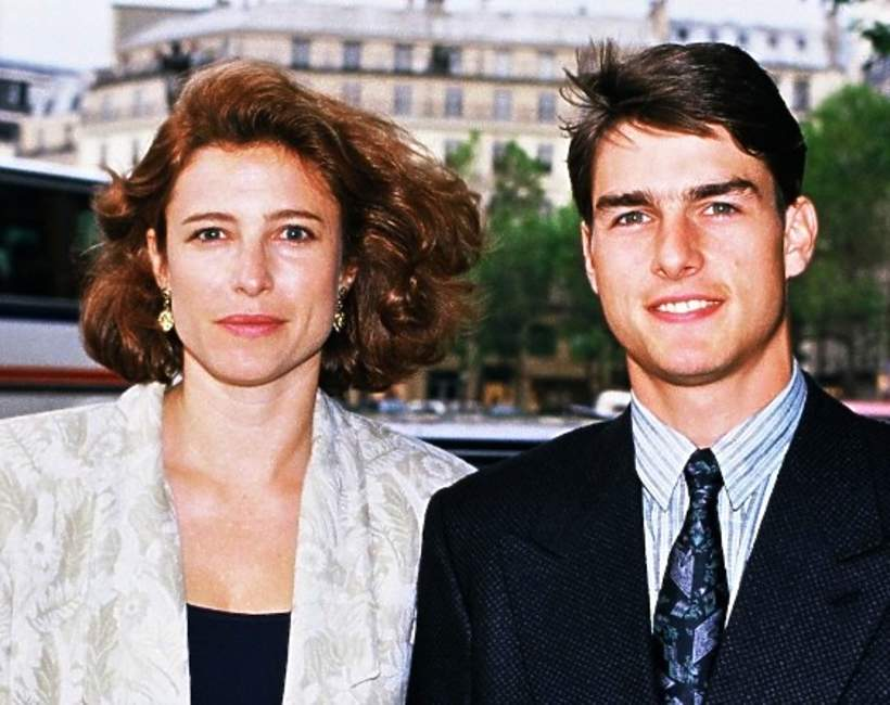 Tom Cruise i Mimi Rogers, 1987