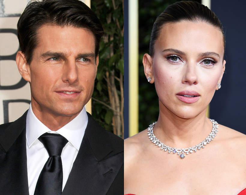 Tom Cruise i Scarlett Johansson bojkotują Złote Globy