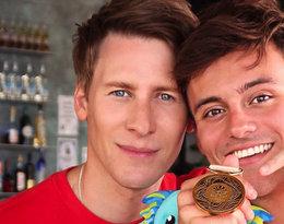 Tom Daley, sportowiec i jego chłopak zostali rodzicami