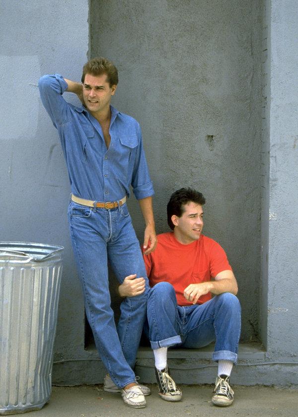 Tom Hulce i Ray Liotta, film Dominick i Eugene