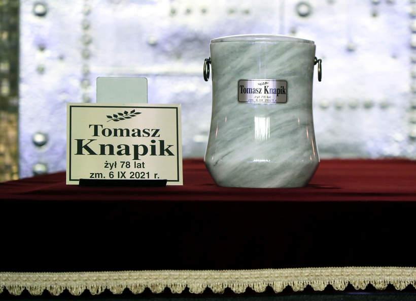 Tomasz Knapik pogrzeb