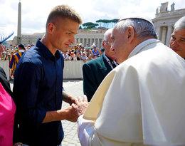 Tomasz Komenda spotkał się z papieżem Franciszkiem!