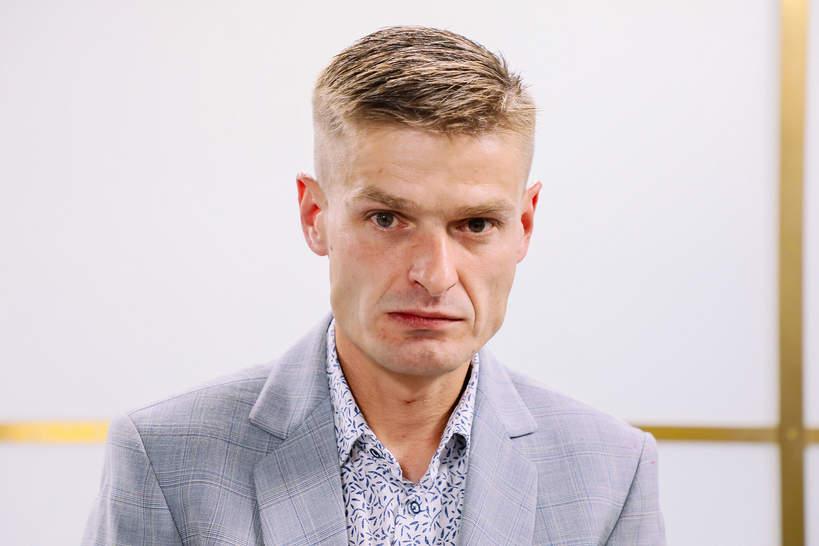 Tomasz Komenda w Studio Dzień Dobry TVN, 2020