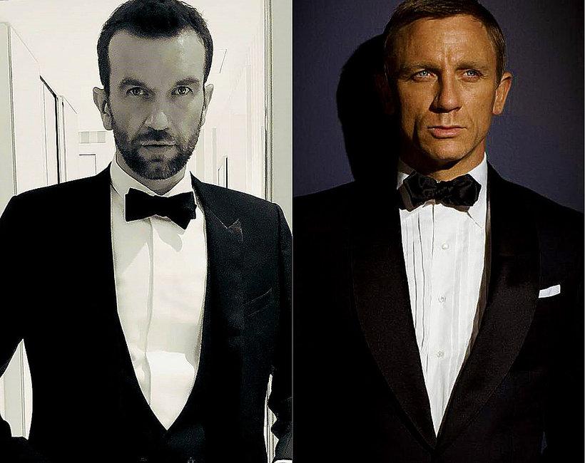 Tomasz Kot, Daniel Craig, James Bond