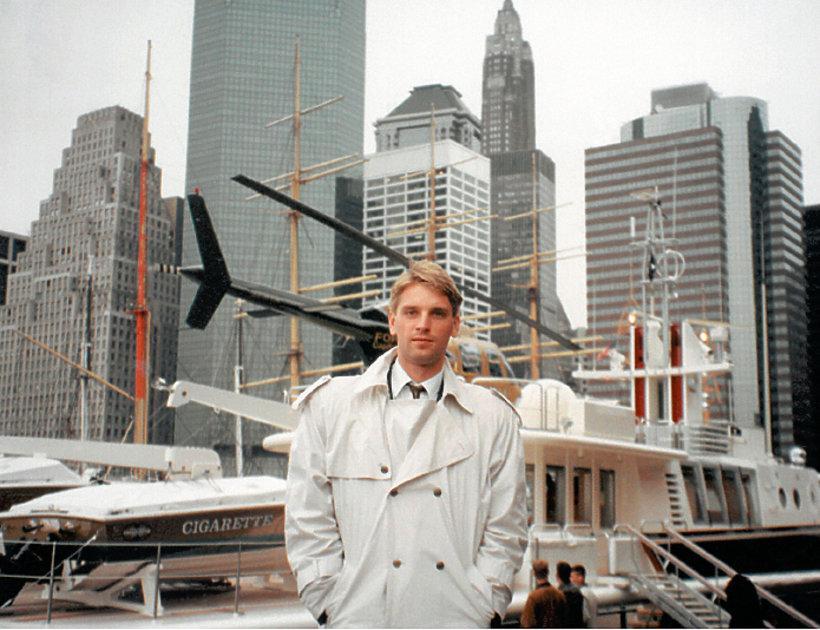 Tomasz Lis w Nowym Jorku, listopad 1992
