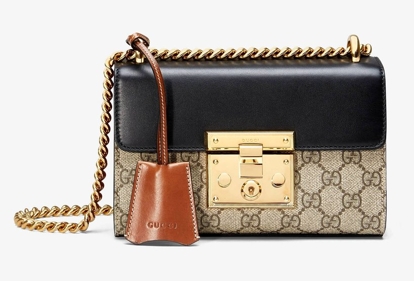 torebka Gucci Padlock small GG shoulder bag