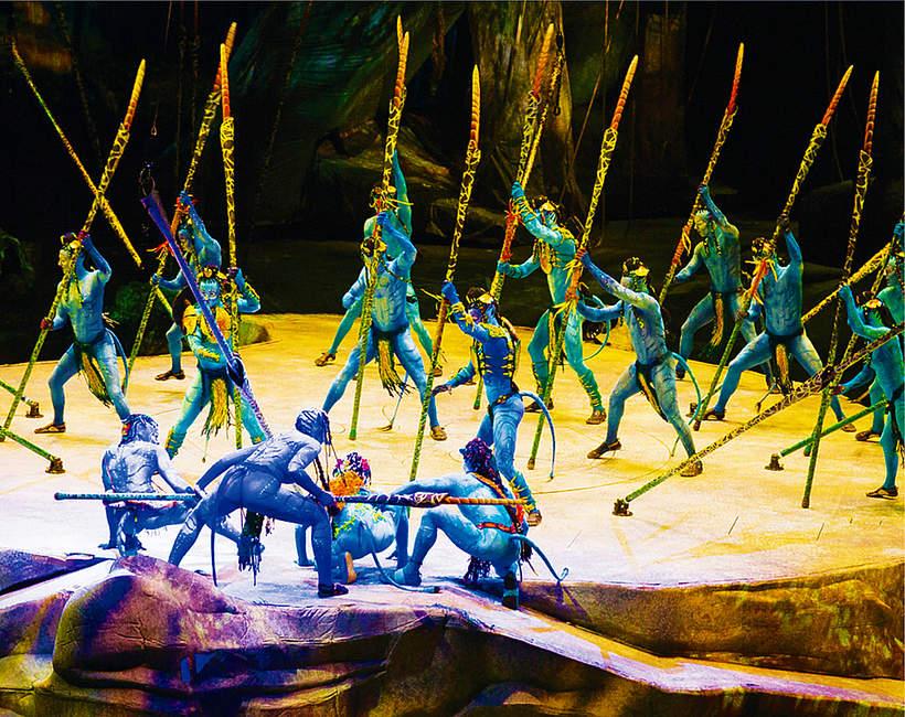 Toruk. Pierwszy lot, Cirque du Soleil, spektakl na podstawie filmu Avatar