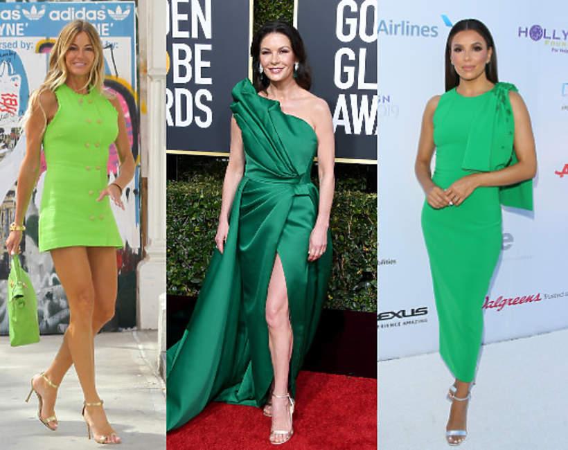 Trend zielony kolor