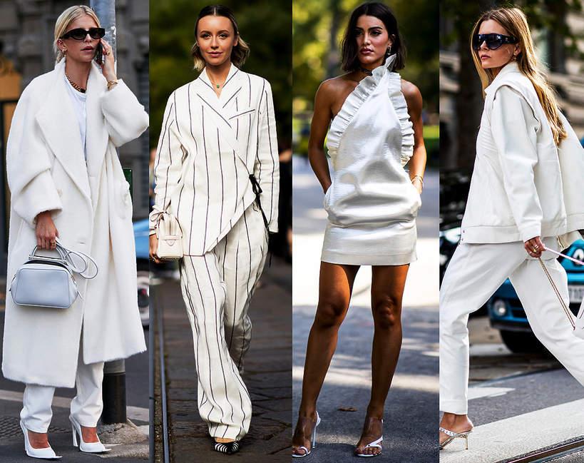 Trendy białe na lato 2021