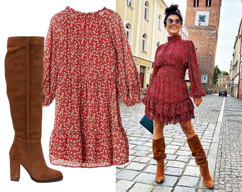trendy-jesien-zima-2020-katarzyna-cichopek-w-modnej-sukience-i-botkach-na-nowy-sezon