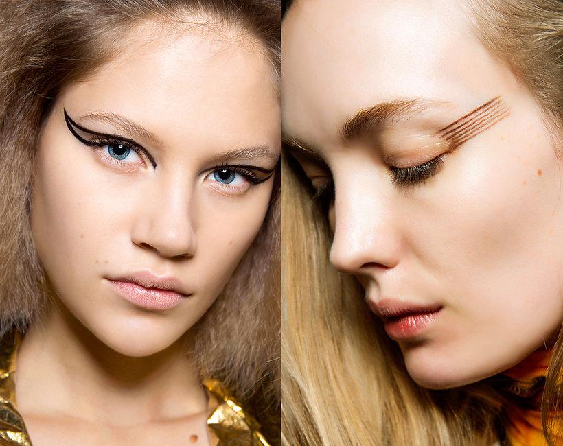 Trendy makijaż jesień 2019/2010 oczy