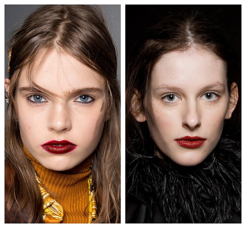 Trendy makijaż jesień 2019/2010 usta