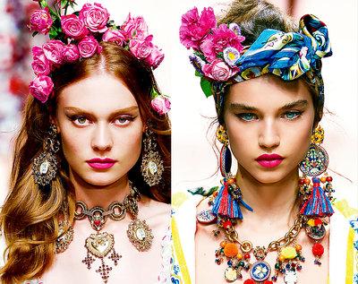 trendy makijaż VIVA! MODA
