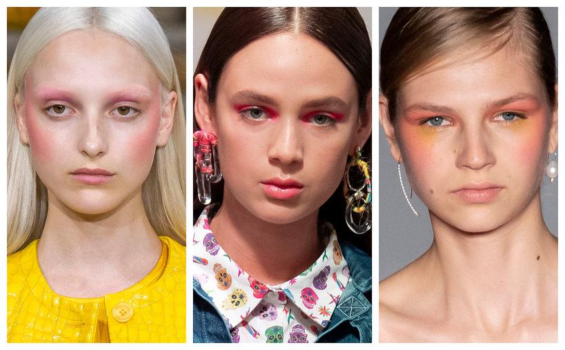 trendy makijaż wiosna lato 2020