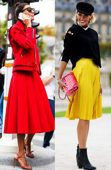 spodnice-kolorowe-w-groszki-za-kolano-2020