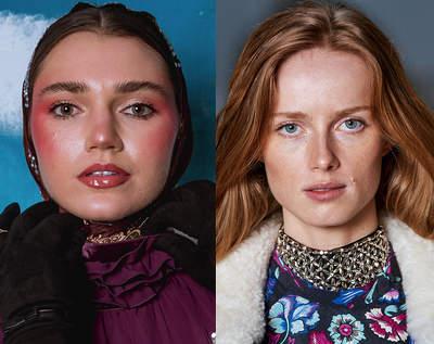 trendy w makijażu na jesień 2021 cera
