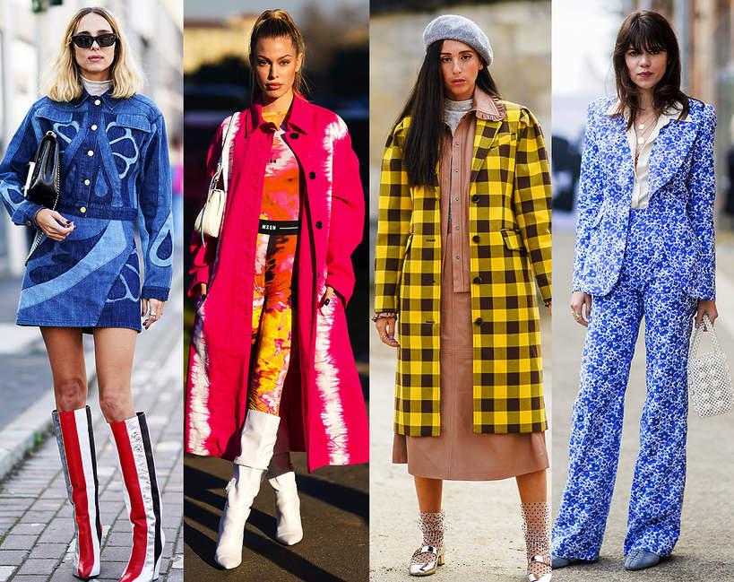Trendy wiosna 2021. Kratka, paski, a może kwiaty. Jakie desenie będziemy nosić wiosną 2021?
