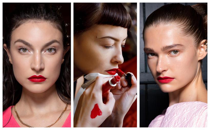 trendy wiosna lato 2020 makijaż i manicure