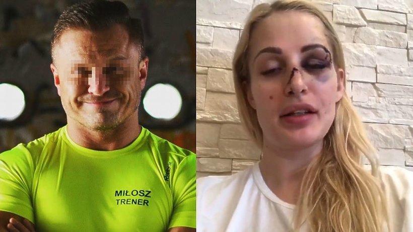 Trener personalny pobił dziewczynę, Katarzyna Dziecic