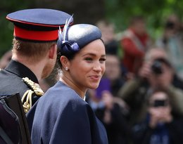 Trooping the Colour księżna Meghan