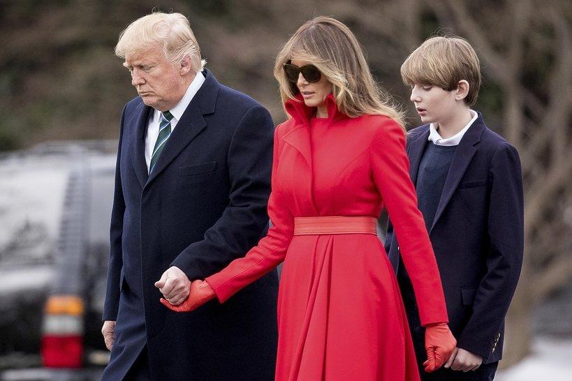 Trumpowie z Baronem