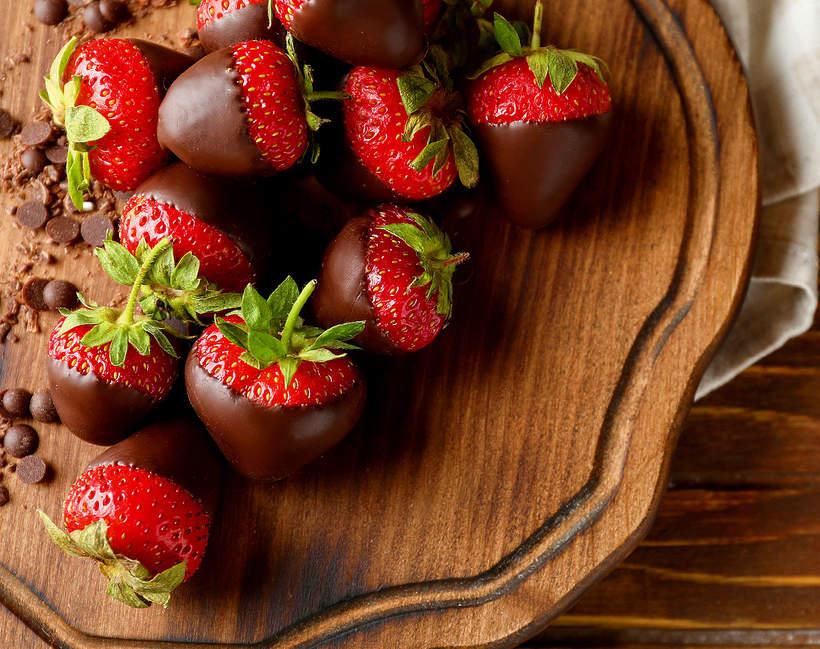 Truskawki w czekoladzie