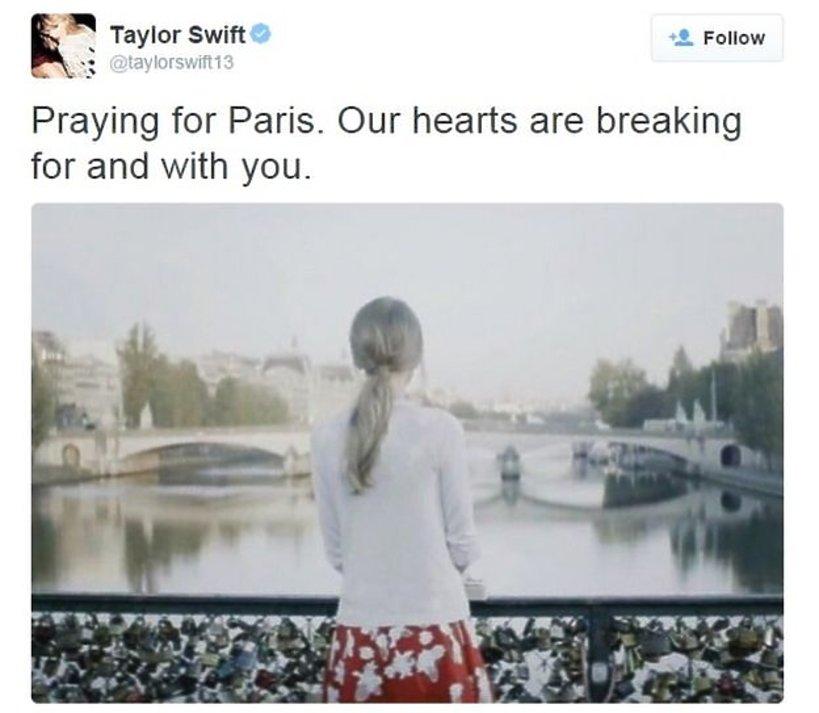 Tweet Taylor Swift