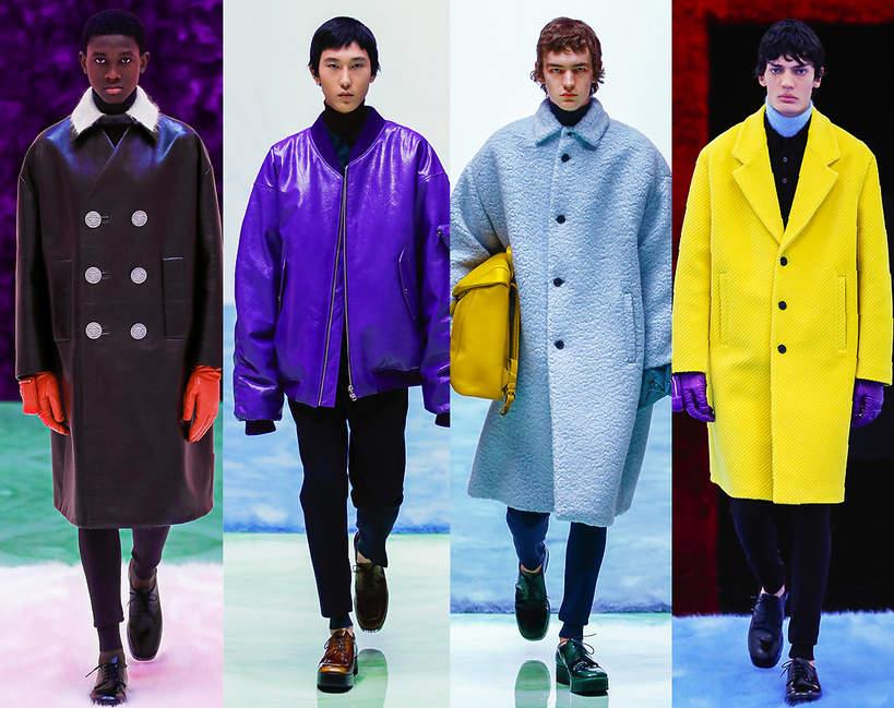 Tydzień mody męskiej w Mediolanie Prada na jesień 2021