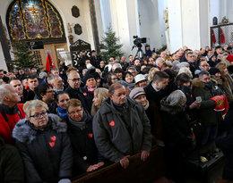 Uczestnicy pogrzebu Pawła Adamowicza