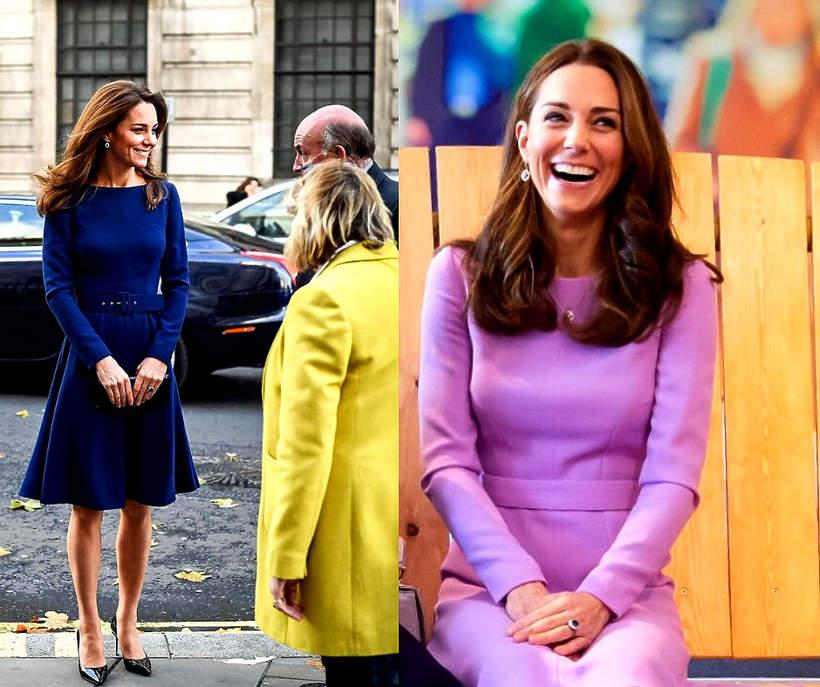 Ulubiony fason sukienki Kate Middleton