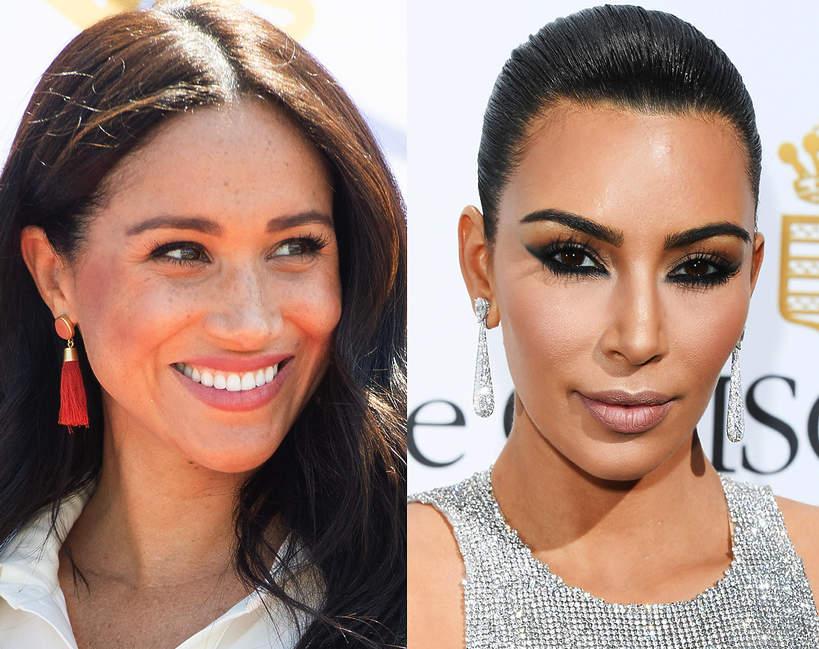 ulubiony podkład Meghan Markle, Kim Kardashian