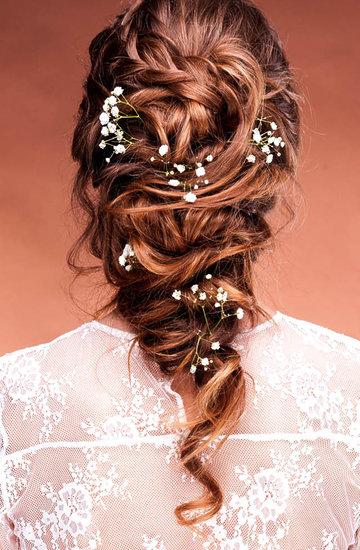 uroda, fryzury ślubne