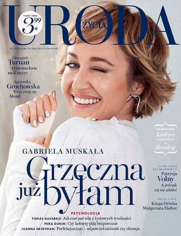 Uroda Życia, okładka 1/2019, Gabriela Muskała
