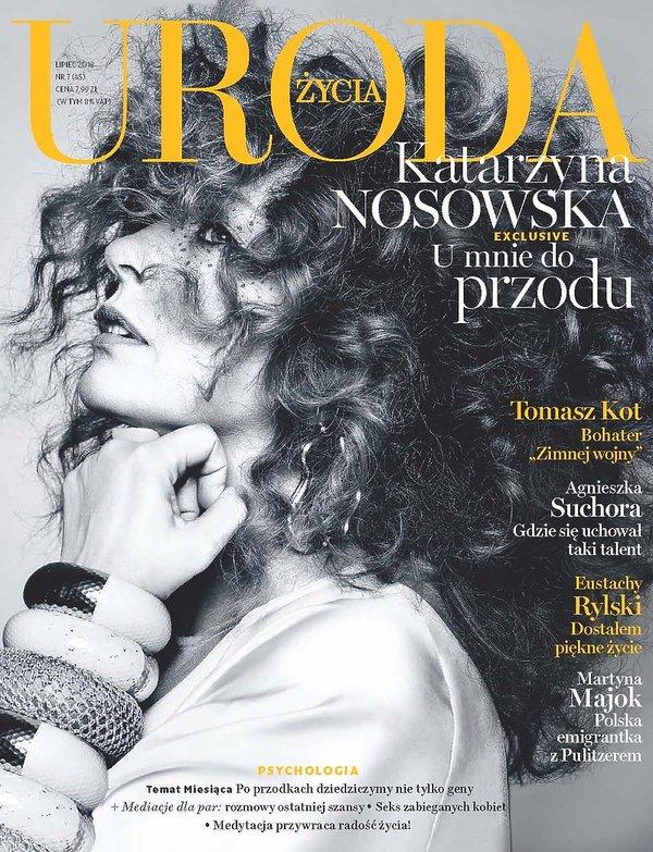 Uroda Życia, okładka z Katarzyną Nosowską, lipiec 2018